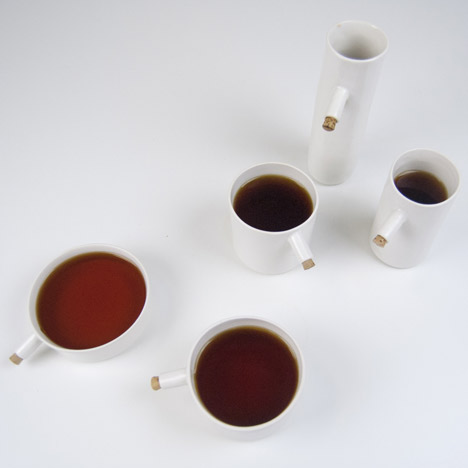 Tea set by UNITEA at Dezeen Super Store
