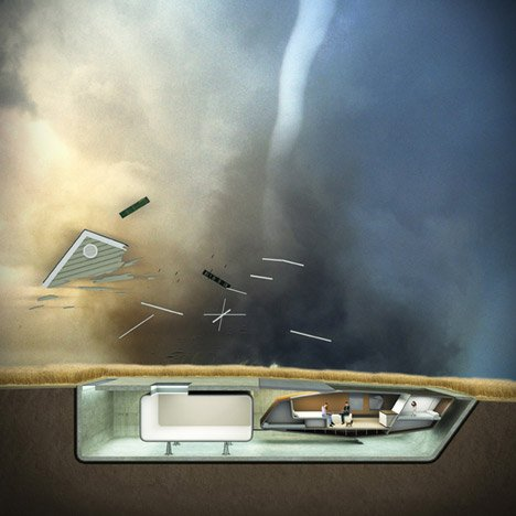 Tornado Proof House by 10 Design