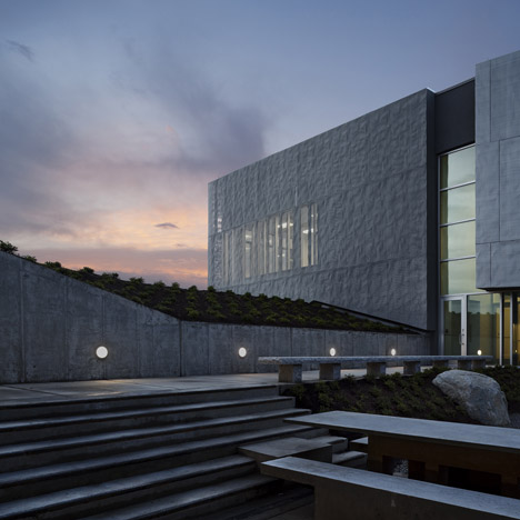 United States Land Port of Entry in Calais by Robert Siegel Architects