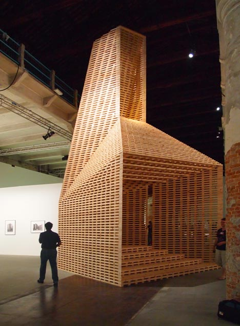 Vessel at the Venice Architecture Biennale 2012