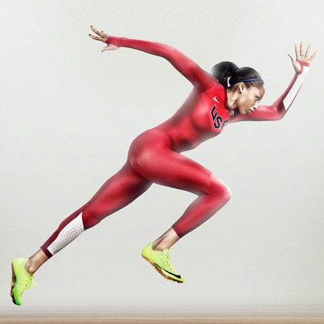 Nike Pro TurboSpeed speed-suit - Allyson Felix