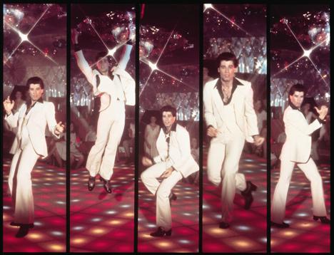 John Travolta's Saturday Night Fever suit rediscovered