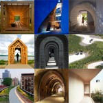 New Pinterest board: pathways and tunnels