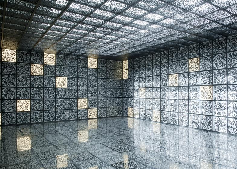 Russian Pavilion QR codes at the Venice Architeture Biennale 2012
