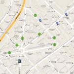 Dezeen's London Design Festival map