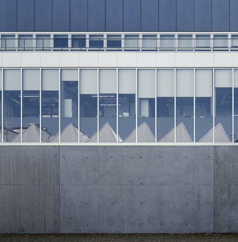 The Dyson Building by Haworth Tompkins