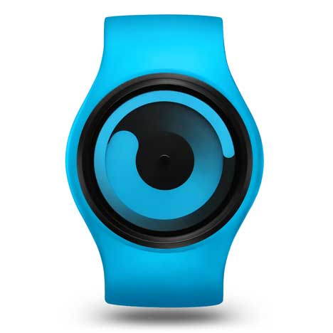 ZIIIRO Gravity blue at Dezeen Watch Store