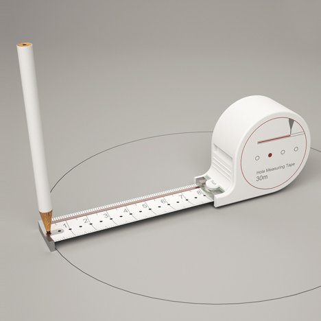 Any Kinda Tape measure by Sunghoon Jung