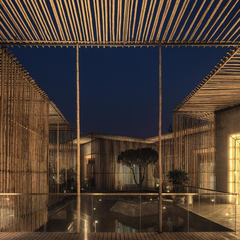 Bamboo Courtyard Teahouse by HWCD