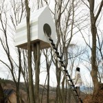 Bird-apartment by Nendo