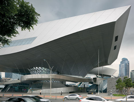 Busan Cinema Centre by Coop Himmelb(l)au