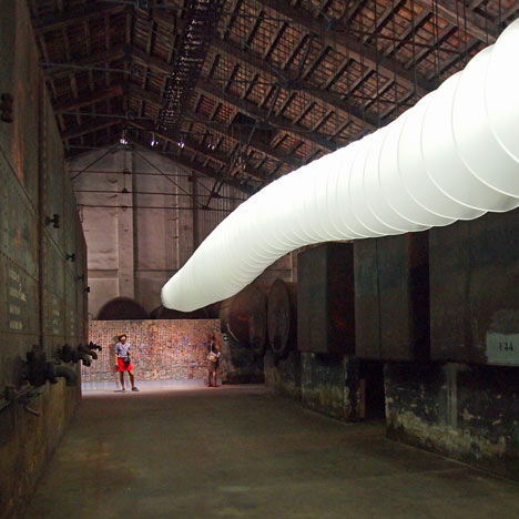 Chinese Pavilion at Venice Architecture Biennale 2012