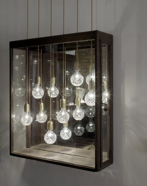 Crystal Bulb Shop by Lee Broom