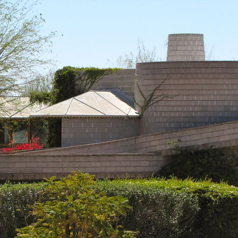 David and Gladys Wright house in Arizona