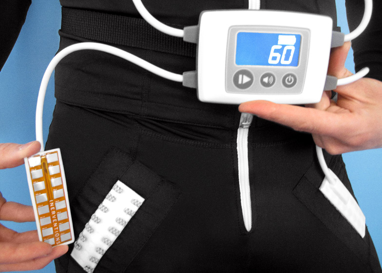 Inerventions' Elektrodress to prevent muscle spasms