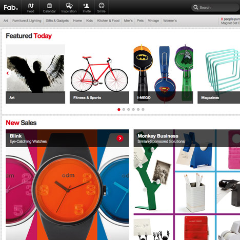 "Fab.com launches ""shopfront for the whole of Europe"""