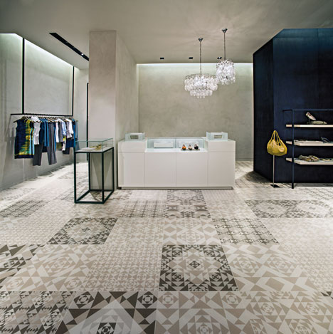 Frame tile collection by Refin