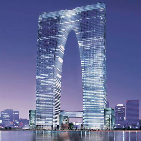 RMJM skyscraper dubbed 'big pants' by Chinese – Telegraph