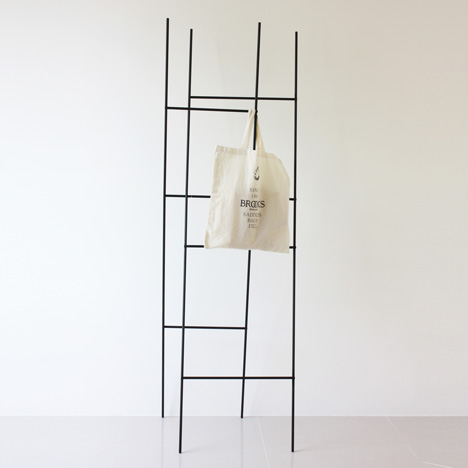 Ladder Coat Rack by Yenwen Tseng