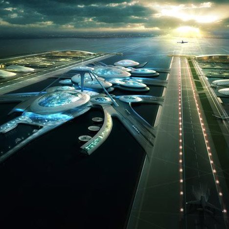 London Britannia Airport by Gensler