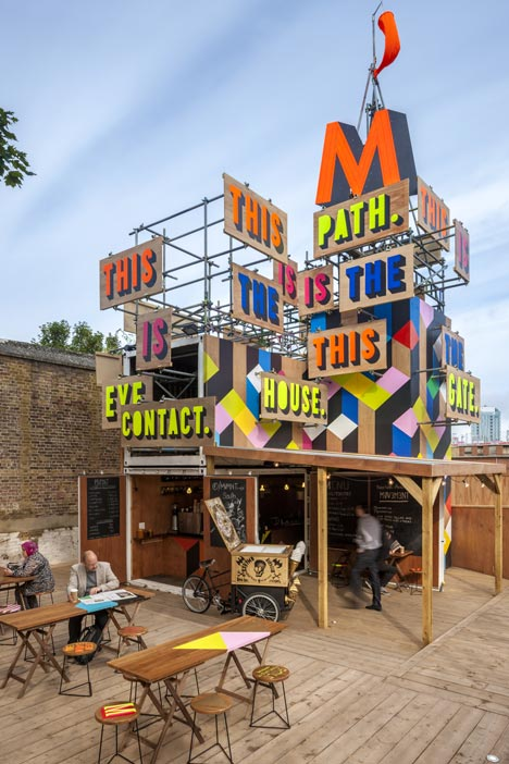 MVMNT Cafe by Morag Myerscough
