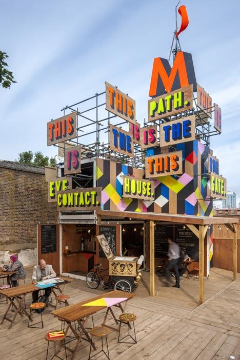MVMNT Cafe by Morag Myerscough