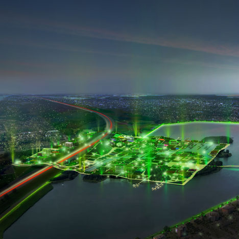 MVRDV to create Almere peninsula for World Horticultural Expo