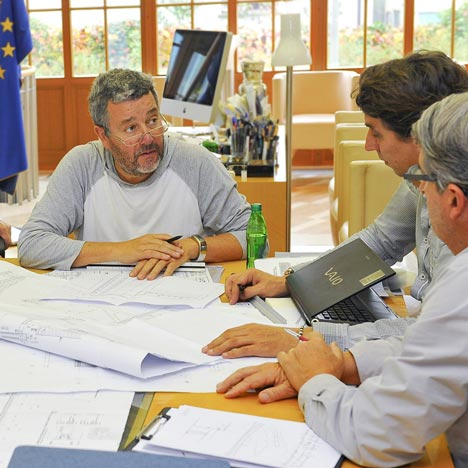 Philippe Starck to complete first prefab wooden eco-house