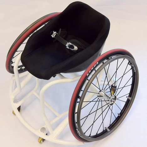Paralympic design: 3D-printed seats for wheelchair basketball
