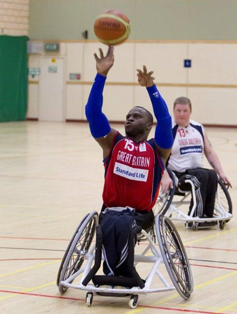 Paralympic design: 3D printed seats for wheelchair basketball