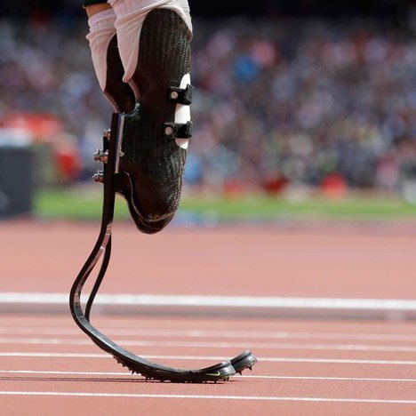 Paralympic design: Flex-Foot Cheetah blades