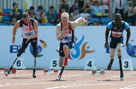 Paralympic design: Flex-Foot Cheetah blades by Ossur