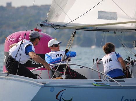 Paralympic design: adaptive sailing equipment