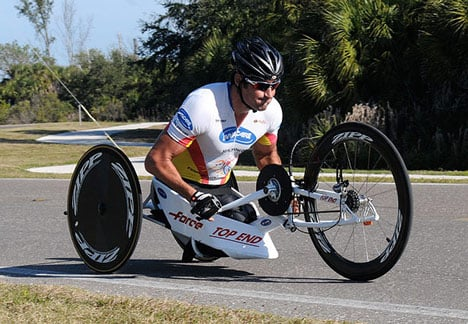 Paralympic design: competitive handcycles