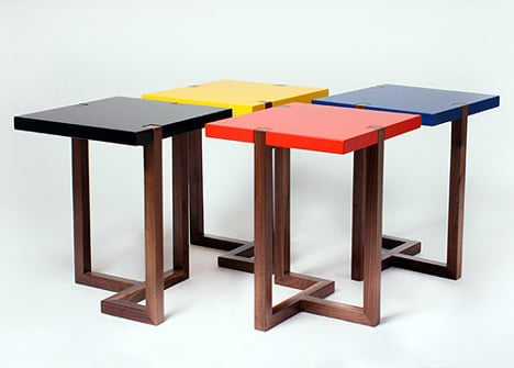Piet side table by Hugo Passos for the Stepney Green Design Collection