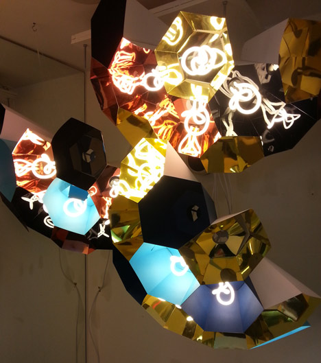 Plumen Hive by Hulger in The Changing Room at Dezeen Super Store