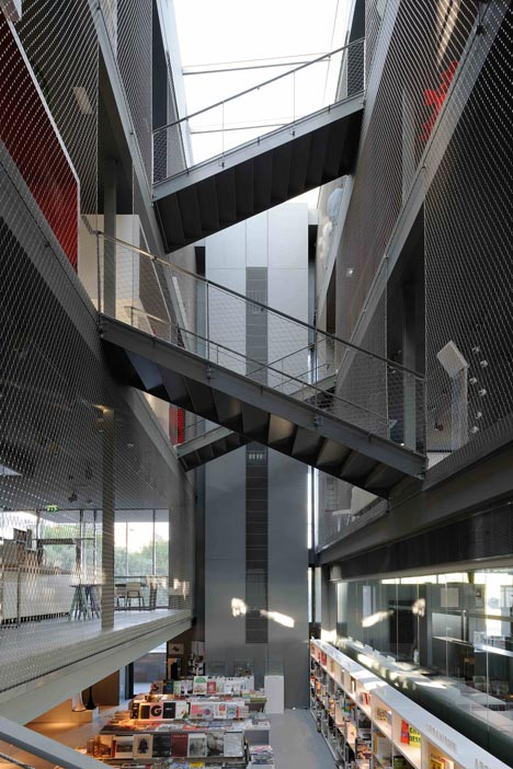 RBC Design Centre Montpellier by Jean Nouvel