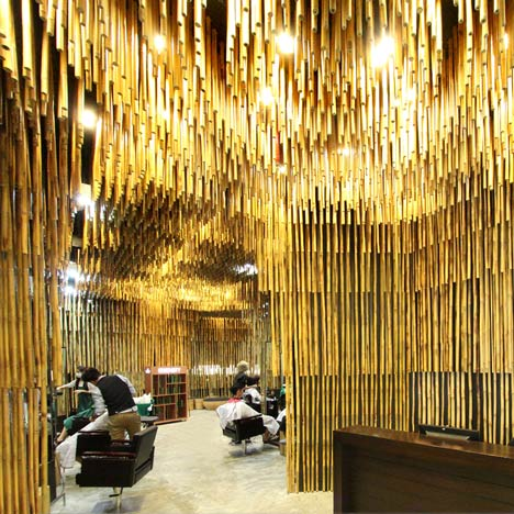 Dezeen Top 10 Bamboo Architecture Projects on designer ceilings for homes