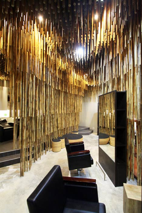 Salon in Bangkok by NKDW
