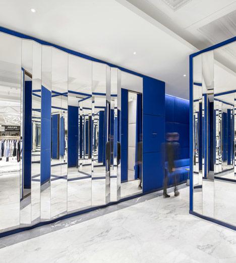 Selfridges Mens Designer Space by Alex Cochrane Architects
