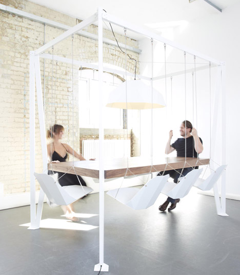 Swing Table by Duffy London.
