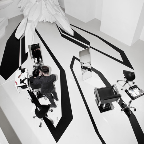 The Fudge Pop-Up Salon by Zaha Hadid