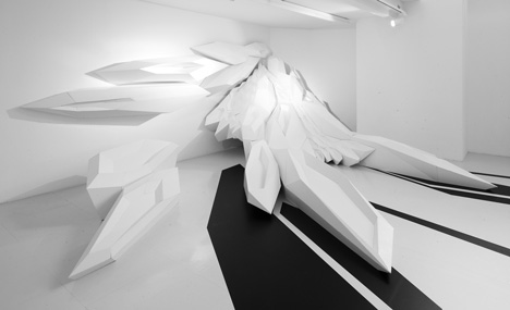The Fudge Pop-Up Salon by Zaha Hadid Architects