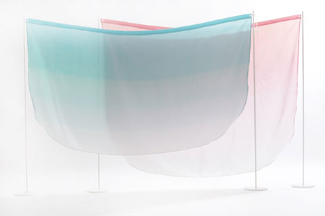 Tint room dividers by Kristine Five Melvær