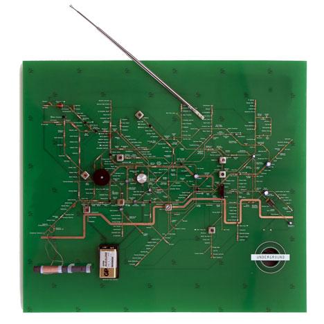 Tube Map Radio by Yuri Suzuki