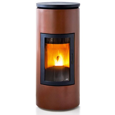 Tube stove by MCZ