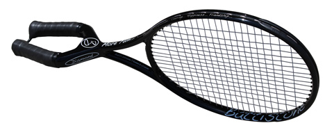 Two-handed tennis racket spotted at US Open