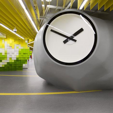 Yandex Saint Petersburg Office II by Za Bor Architects