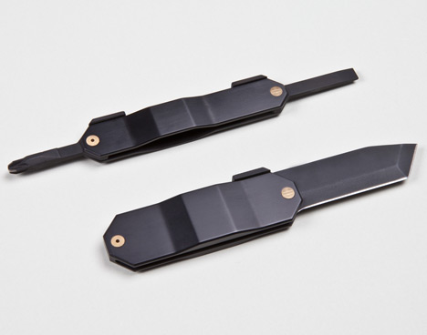 Zai HIGO knife and screwdriver by Kacper Hamilton