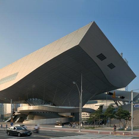 Busan Cinema Centre by Coop Himmelb(l)au